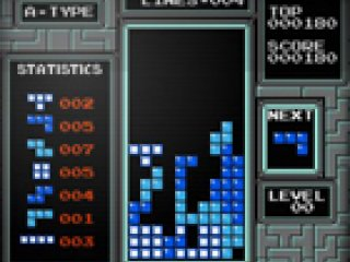 First Person Tetris
