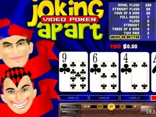 Joking Apart Video Poker - 1