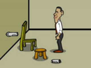 Obama Presidental Escape